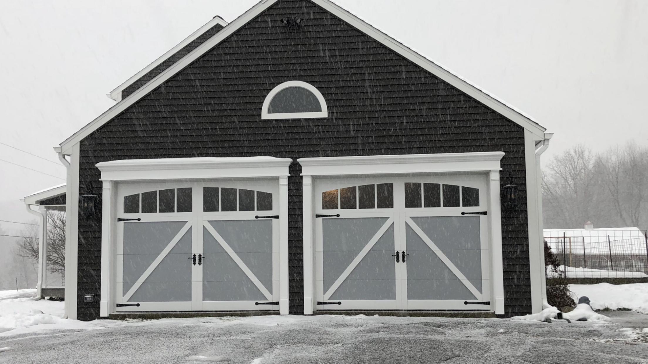 Stamped Carriage House Gates Garage Door